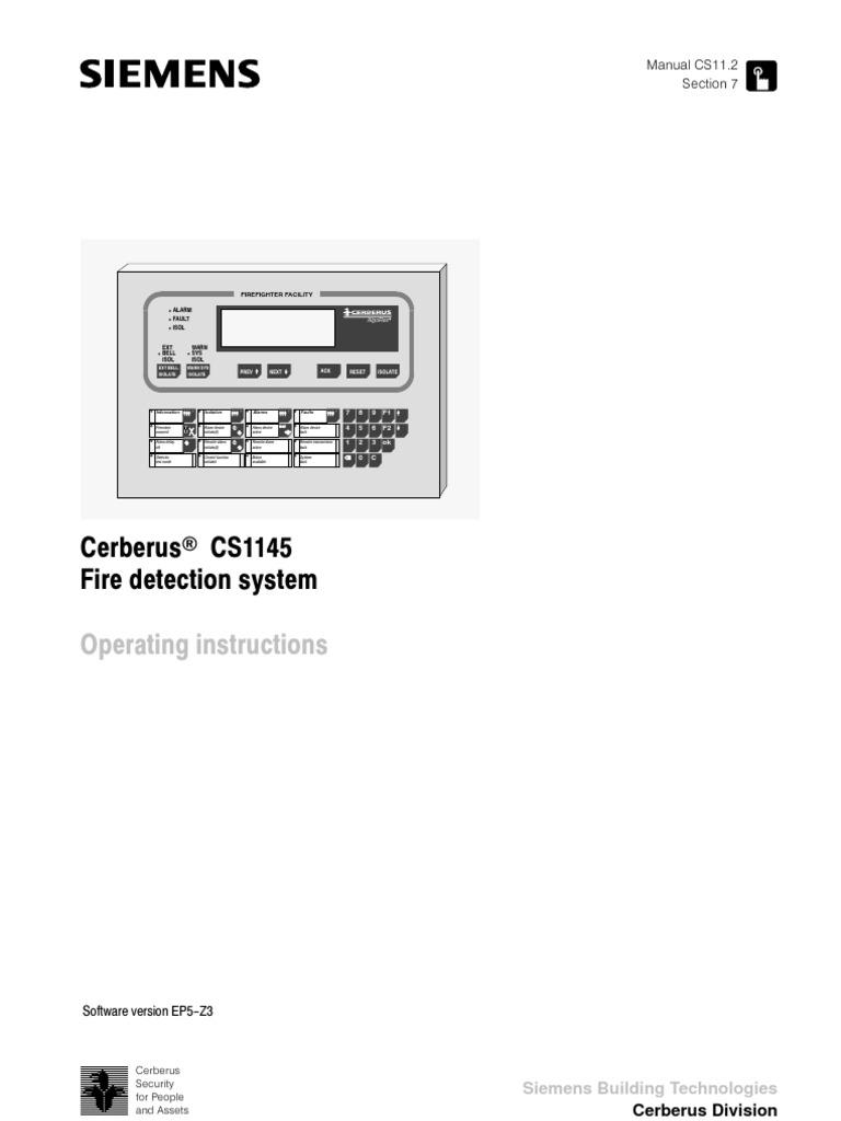algorex ci1145 operators manual firefighter sensor rh es scribd com
