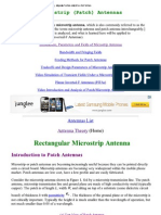 Microstrip Antennas_ the Patch Antenna