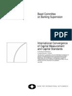 International Convergenceof Capital Measurementand Capital Standards