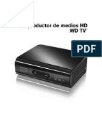 Instrucciones WD Media Player
