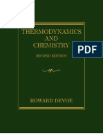 Thermodynamics & Chemistry Book by Howard