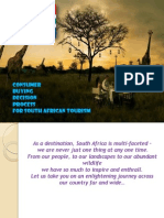 South Africa Tourism Ppt 1
