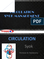 3. Circulation Syok Management
