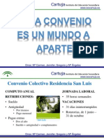 Convenios colectivos (Omar, Mª Carmen, Jennifer, Gregorio y Mª Angeles)