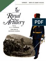 Osprey, Men-At-Arms #025 the Royal Artillery (1973) OCR 8.10