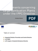 Large Combustion Plants Under the IPPC Directive