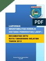 LAKIP 2013 Kecamatan Setu