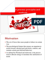 Motivation Process COCA-COLA Semenov, Stepanenko IFF 2-1