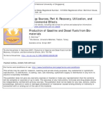 Production of Gasoline and Diesel Fuels from Bio-materials.pdf
