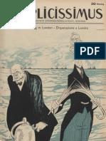 Simplicissimus anno45, numero 17, 28 aprile 1940.