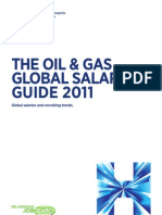 The oil and gas global salary guide 2011