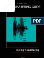 Audio Mastering Guide Deutsch