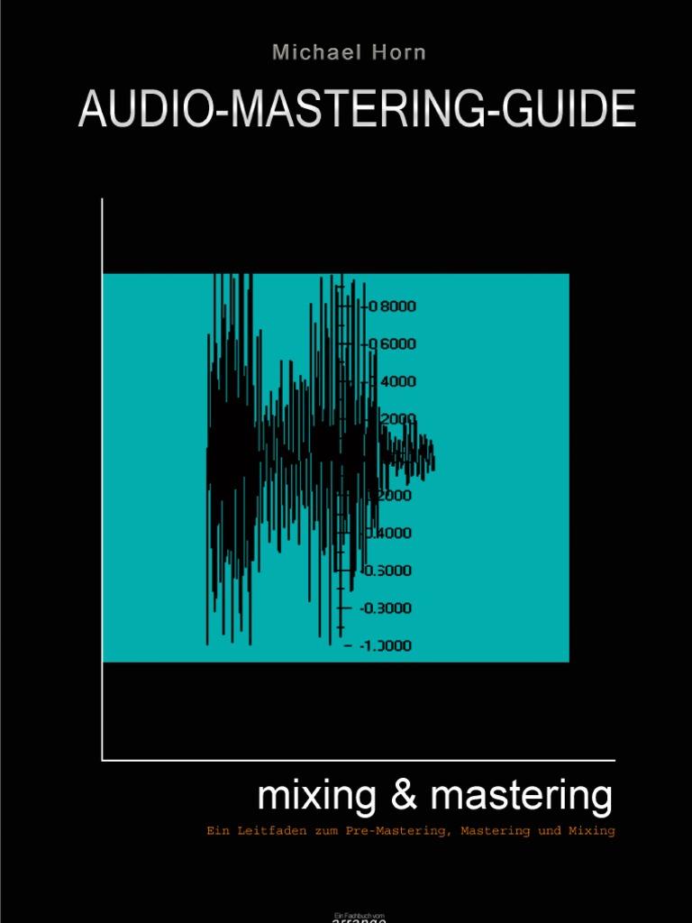 Audio Mastering Guide Deutsch