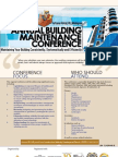 3rd Building Maintenance Conference