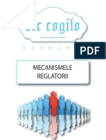 Sic Cogito Simplex Mecanismele Reglatorii