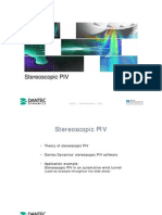 10 Ea PIV Stereoscopic PIV Educational Slide Show
