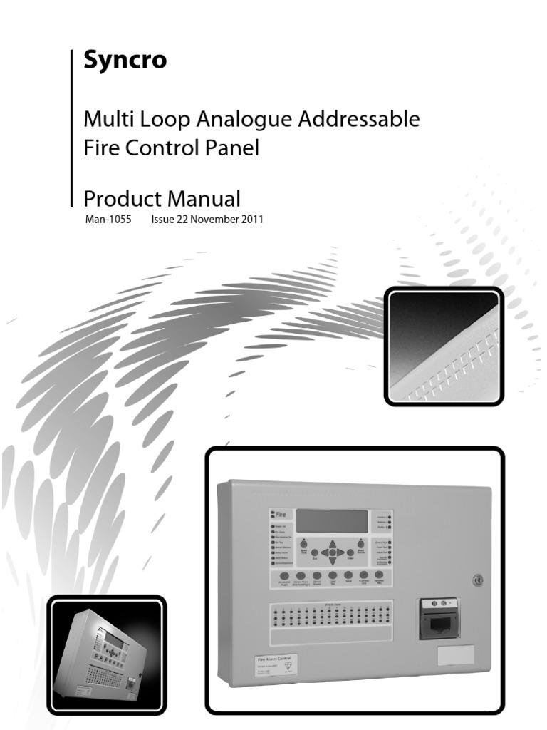 Manual Kentec Syncro seria 800 | Cable | Relay