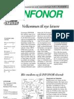 INFONOR-Nyhedsbrev 1999 Nr 1