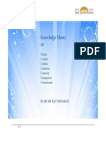 Knowledge Sheets on C