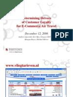 Ecommerce Air Travel