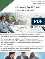 IRS Cracks Down on Tax ID Theft