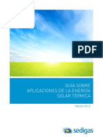 Guia Aplicaciones Energia Solar Termica SEDIGAS