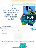 Automated Crack Extension Fracture Seminar