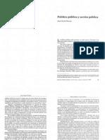 1997. Thoenig, Jean-Claude. Política pública y acción pública