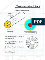 Coaxial Transmission Lines