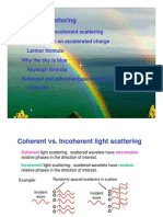 Coherent and Incoherent Scattering