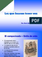 Presentación realizada por Rocío Boceta