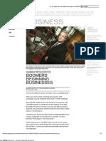 Telegraph Journal - Business - Human Resources __ Boomers Beginning Businesses