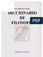 Ferrater Mora - Dicc de Filosofia C
