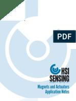 HSI Sensing Magnet Application Notes