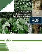 Efectos de la Crisis Sistémica Global sobre los Derechos Humanos y Derechos de las Mujeres