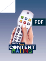 Practical Guide Content Rating