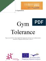 Presentazione Progetto Gym Tolerance
