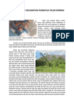 Kabel Listrik Di Kecamatan Purbatua Telan Korban