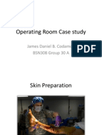 Operating Room Case Study