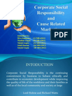 CSR and CRM ppt