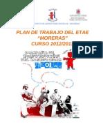 Plan de Trabajo Etae 2012-2013