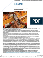 The Hindu _ Sci-Tech _ Technology _ RFID-Enabled Services for Supply Chain Management