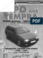 Fiat Tipo and Tempra Service