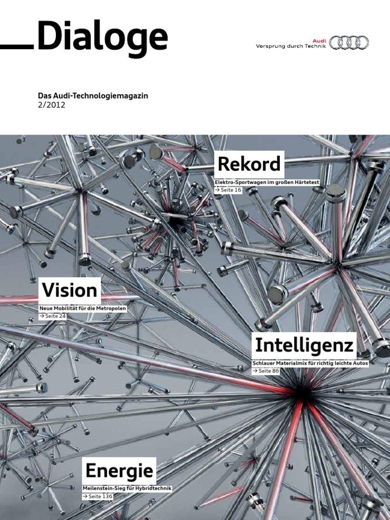 Dialoge-Technologiemagazin, August 2012