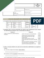 Intermédio -Ficha-de-Gramatica-9º-ano