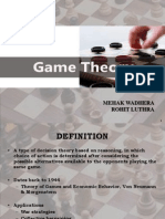 Game Theory OM