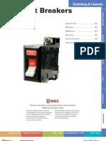 IDEC Breaker Catalog