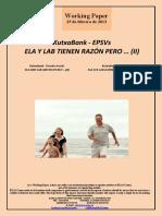 KutxaBank-EPSVs. ELA Y LAB TIENEN RAZÓN PERO ... II KutxaBank-Pension Funds. ELA AND LAB ARE RIGHT BUT ... (II) KutxaBank-BGAEak. ELA ETA LAB ZUZEN DABILTZA BAINA ... (II)