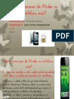 camila Cinco maneras de blindar su teléfono móvil.pptx