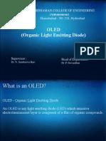 OLED Organic